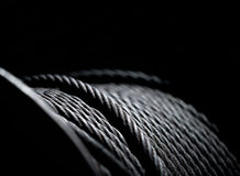 American steel cable ready to go to work Royalty Free Stock Photography