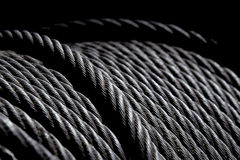 American steel cable ready to work Royalty Free Stock Photography