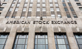 American stock exchange - AMEX Royalty Free Stock Photos