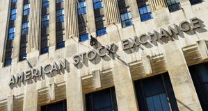 American Stock Exchange Royalty Free Stock Photo