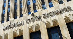 American Stock Exchange Royalty Free Stock Photo