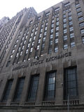 American Stock Exchange Building Stock Image