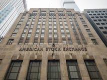 American Stock Exchange - New York stock photo
