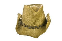 American straw cowboy hat Stock Image
