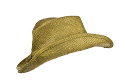 American straw cowboy hat left side Stock Photos