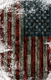 American Striped Flag Stock Photography