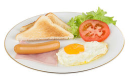 American style breakfast Stock Photography