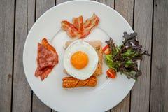 American style breakfast Stock Image