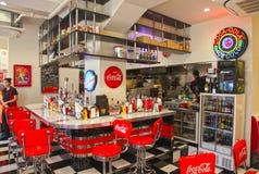 American Style Diner in Yokohama, Japan Stock Images