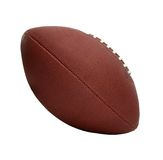 American Style Football, Tilted Side View Royalty Free Stock Image