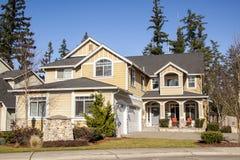 American style house Stock Photos