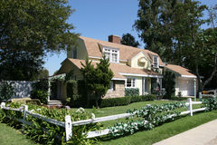 "American style house. – similar to one from ""Desperate Housewives"" TV show Stock Photo"