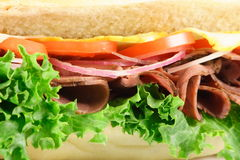 American style sandwich Stock Image