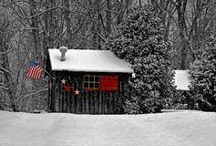American Style Smokehouse Royalty Free Stock Photos