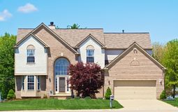 American Suburban House stock photo