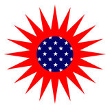 American Sun Royalty Free Stock Photography