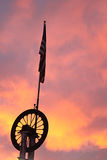 American Sunset Royalty Free Stock Photo