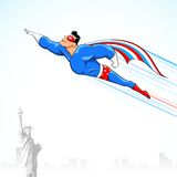American Super Hero Royalty Free Stock Images