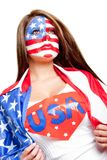 American superwoman Stock Image