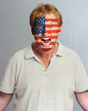 American supporter Royalty Free Stock Photography