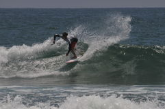 American  Surfer griffin Colapinto (2) competes in California Stock Photography