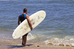 American Surfing Royalty Free Stock Images