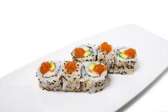 American sushi alaska roll. Stock Image