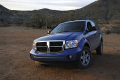 American SUV off-road Royalty Free Stock Image