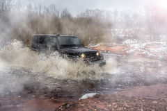 American SUV Stock Photography
