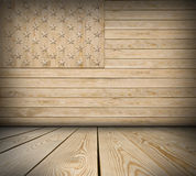 American symbol interior room. American symbol empty interior room with space for Your idea Royalty Free Stock Photography