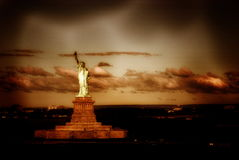 American symbol Statue of Liberty in New York, USA Stock Photography