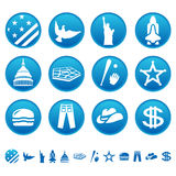 American symbols Stock Photography