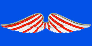 American symbols with wings Stock Images
