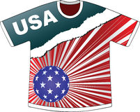 American t-shirt Stock Image