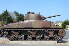 American tank from war Royalty Free Stock Photos
