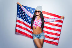 American teen. Stock Images