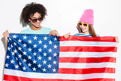 American teens. Royalty Free Stock Images