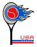 American tennis Stock Photo