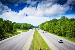 American toll way Stock Photography