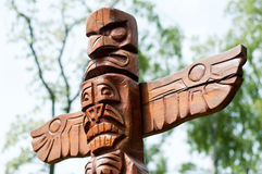 American totem Stock Photos