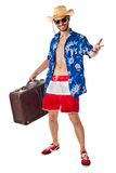 American tourist Stock Photo