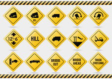 American traffic signs Stock Photography