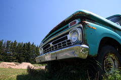 American truck. Old American truck Stock Images