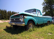 American truck. Old American truck royalty free stock photography