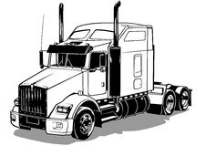 American Truck Royalty Free Stock Image