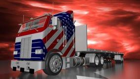 American truck stock video