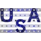 American Typography Graphics USA grunge Royalty Free Stock Photos