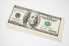 American 100 U.S. dollars Royalty Free Stock Image