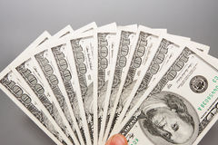 American 100 U.S. dollars Stock Images