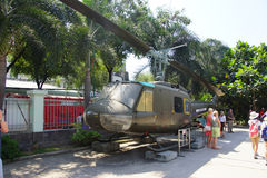 American UH-1 Huey helicopter Stock Photos